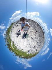 Theta 360 KAP on Raimiti, Fakarava (Pierre Lesage) Tags: pierrelesage kapstock kap autokap kiteaerialphotography ricohgr kapfoil2 fakarava tetamanu southpass blue lagoon beach motu reef coral frenchpolynesia pacificocean tropical raimiti googleearthstyle high turquoise coconutgrove shadows delta r8 danleigh panorama 360 theta ricoh