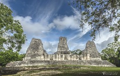 Xpuhil 0314 ch (Emilio Segura López) Tags: xpuhil campeche penínsuladeyucatán pirámide arqueología maya méxico
