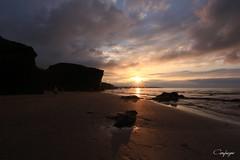 Por siempre joven... (cienfuegos84) Tags: atardecer atlántico galicia españa spain ocean sea sunset nubes clouds sand arena canon700d tokina1116