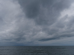 that sort of day (watcher330) Tags: aberystwyth sea clouds cardiganbay
