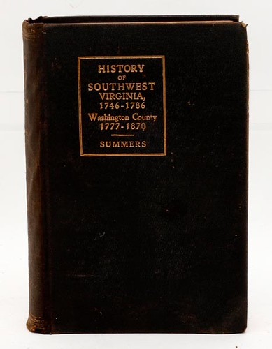 History of Southwest Virginia 1746-1786 Book ($201.60)