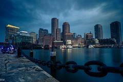 Boston Seaport (MikeWeinhold) Tags: boston skyline seaport city docks sky 6d leefilters littlestopper harbor