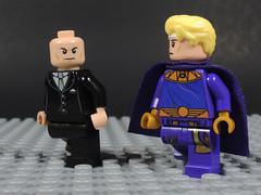 Smartest Men of Two Worlds (-Metarix-) Tags: lego minifig dc comics comic watchmen lex lurhot ozymandius doomsday clock rebirth universe smart