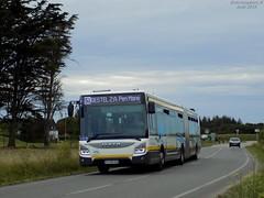 Iveco Urbanway 18 n°446 (ChristopherSNCF56) Tags: iveco bus autobus urbanway 18 articulé transport urbains ctrl réseau larmorplage ligne 51 446
