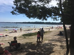 Plage de Cap Coz (jpleroux65) Tags: swimming holidays summer sea beach vacances mer baignade été plage