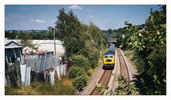 Tail End Charlie (Gingydadtog) Tags: class47 diesel gbrf locomotive lye passengertrain westmidlands