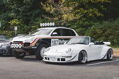 RWB Porsche 993 Cabriolet + Flatsix Classics Cayenne (Dylan King Photography) Tags: carsandcoffee coffeeandcars vancouver vancity bc canada