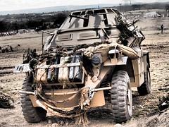YWE2018 (clarks666) Tags: reenactors warfare history military conflict war 20thcentury ww2 armouredcar german afrikakorps ywe2018 army