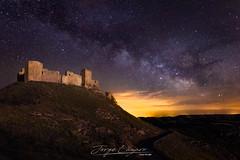 Castillo de Montearagón (www.jorgelazaro.es) Tags: castillo castle nocturna cielo noche montearagón huesca paisaje víaláctea milkyway quicena aragón españa es