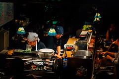 S F (Cheng Dong) Tags: night market michelin chef sushi low light tone moody food sanfrancisco kodak gold street sony fuji