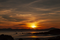 Sunset Lough Swilly (leppre) Tags: loughswilly swilly sunset sunsetdonegal sunsetloughswilly waterscape inishowen ireland donegal buncrana bonfire