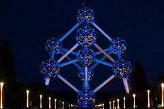Atomium by night (marian78ro) Tags: atomium brussel brussels brussell bruxelles nikon nikond800 nikonflickraward muiepds marian78ro mbphotography