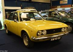 1970 FIAT 124 Sport Coupé 1600 (peterolthof) Tags: oldtimerbeurs leek peterolthof am4003