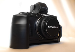 Olympus Pen E-P5. (CWhatPhotos) Tags: cwhatphotos camera photographs photograph pics pictures pic picture image images foto fotos photography artistic that have which contain ep5 micro four thirds vf4 view finder black photographed by an light shadow shadows views art olympus olympusep5 olly