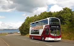 New Bus, New Terminus... (SRB Photography Edinburgh) Tags: lothian buses bus transport scotland edinburgh roads exlondon wrightbus volvo b9