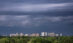 A Brewing Storm (Rainfire Photography) Tags: toronto sky clouds storm weather nikon 7200