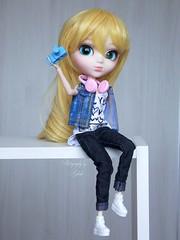 Urban Kawaii (♥gik@h) Tags: pullip taeyang groove doll fashion toy clothes urban style kawaii ally selena blonde barbie