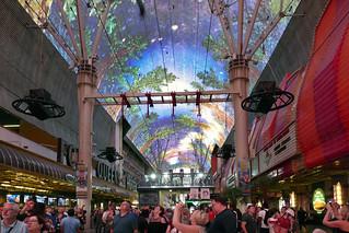 Fremont Street Experence. Las Vegas.