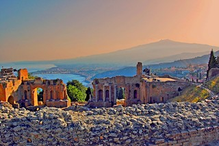 Taormina and Etna