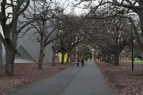 Winter time in the Carlton Gardens
