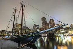 Roseway (Element1983) Tags: boston roseway boat ship water night overcast reflection wide 18mm batis a7ii