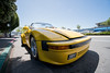 Yellow Porsche (asiantango) Tags: california car item laowa9mmf28zerod lens object out outdoor outdoors outside outsides sunny tiburon vehicles weather