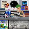 Spaceport  1 (Venture Minimalists) Tags: digitalpainting digitalillustraion illustration scifi scifiart art space outerspace fanart