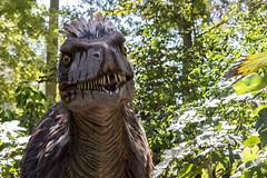 Ils sont vivants... :)) (dddaviddd46) Tags: dinosaure humour parc canon 700d