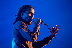Akala at Doune the Rabbit Hole (11) (Five Second Rule) Tags: dounetherabbithole festival 2018 summer scotland stirlingshire portofmenteith jabberwocky akala rapper political stage