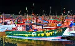 India - Gujarat - Veraval - Fishing Harbour - 5bb (asienman) Tags: india gujarat veraval fishingharbour asienmanphotography asienmanphotoart asienmanpaintography