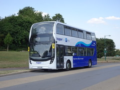 Arriva Derby 4537 Nottingham University (Guy Arab UF) Tags: arriva derby 4537 yy67hdc alexander dennis e40d enviro 400mmc bus library road nottingham university park hopperbus buses