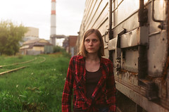 She - 40 years ago (multifaceted_m) Tags: zenite zenit film retro girl helios