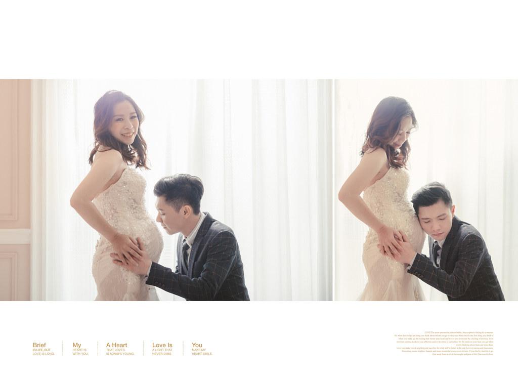台南孕婦寫真 /一場早午餐的浪漫,讓你一拍就上癮的孕婦寫真