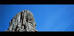 Angkor Wat Mysterious Smile (tlong_zhuhai) Tags: color film hasselblad xpan 45mm f4 fuji rdp selfdevelop e6 4ccd jobo 1520 epson perfection v700 landscape tourism travel angkorcity cambodia