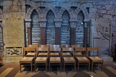 12th century style (Fraser P) Tags: scotland orkney islands kirkwall mainland cathedral romanesque 12thcentury medieval