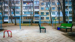 (Radu Tihon) Tags: chisinau moldov soviet sovietblocks sovietbuilding sovietard postsoviet formersoviet sovietcountry east europe easteurope easterneurope architecture sovietarchitecture projects living livingblocks blocks flats neighborhood colors vivid contrast windows brickhouse street streetphotography streetofmine streets streetsaroundtheworld geometry