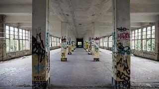 Abandoned Soviet Military Base in Bernau