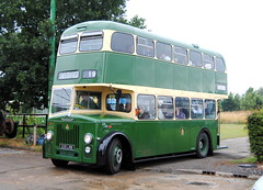 Chesterfield Corporation 225 (Hesterjenna Photography) Tags: 225lrb bus coach psv chesterfield corporation weymann leylandpd2 leyland leylandmotors doubledecker decker sandtoftmuseum sandtoftgathering sandtoft