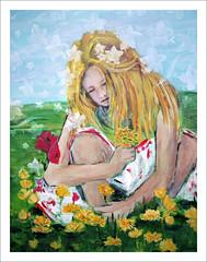 Painting from The Colorfield Performance (macfred64) Tags: filmanalog mediumformat 120 645 6x45 sloten the netherlands art painting event fujiga645wi fujinon45mmf4 kodak ektar100 thecolorfieldperformance