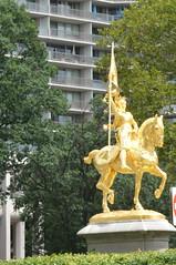 Philadelphia, PA - Fairmount Park East - Joan of Arc (jrozwado) Tags: northamerica usa pennsylvania philadelphia fairmountpark park statue equestrian horse joanofarc