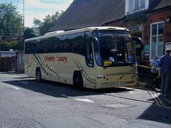 Crawley Luxury Coach, registration No. HIL 7746. (johnzebedee) Tags: coach transport publictransport railreplacement crawleyluxurycoaches threebridges crawley sussex johnzebedee