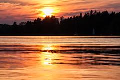 IMG_4556-1 (Andre56154) Tags: schweden sweden sverige wasser water sonne sun wolke cloud himmel sky spiegelung reflection landschaft landscape meer schären ufer sunset