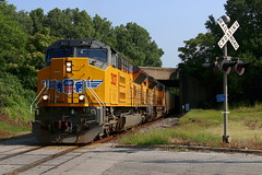 Hole-In-The-Wall (wras23) Tags: unionpacific up sd70aht4 3027 eaststlouis illinois railroad train