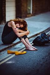 Meggie (James Green Imaging) Tags: fashion portrait yellow street actor actress beauty beautiful