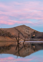 The Big Dry (Mick Fletoridis) Tags: colour water clouds burrinjuck dam hills australia winter reflections sonyimages