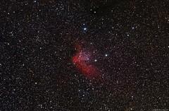 "NGC7380 and ""Wizard Nebula"" Full Frame (Roberto_Mosca) Tags: astronomy deep sky ngc7380 wizard nebula qhy 367c cmos william optics flt 132 astronomia nebulosa stelle stars"