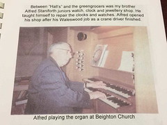Alfred Staniforth (1914-1993) (StaniforthSociety) Tags: beighton hackenthorpe derbyshire sheffield staniforth graves cemetery history ancestry brown