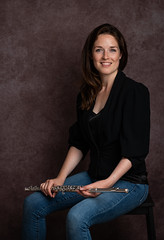 The Flutist... (Allan James Fisher) Tags: flutist wno wales nikon headshot studio sarah bennington