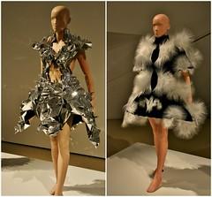 Voltage, Transforming Fashion, Designing the Impossible by Iris Van Herpen, Royal Ontario Museum, Toronto, ON (Snuffy) Tags: voltage transformingfashion designingtheimpossible royalontariomuseum rom toronto ontario canada