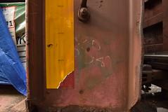 ? 1987 (TheGraffitiHunters) Tags: graffiti graff moniker streak markal street art freight train tracks benching benched wood car 1987